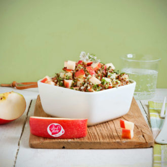 Taboulé de quinoa 2 couleurs à la coriandre fraîche