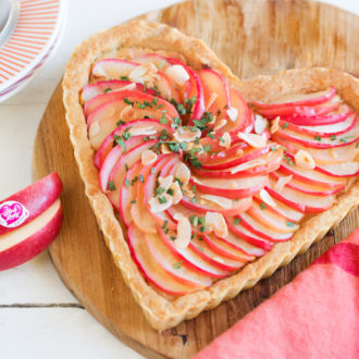 Tarte « Fête des Mères » aux pommes Pink Lady